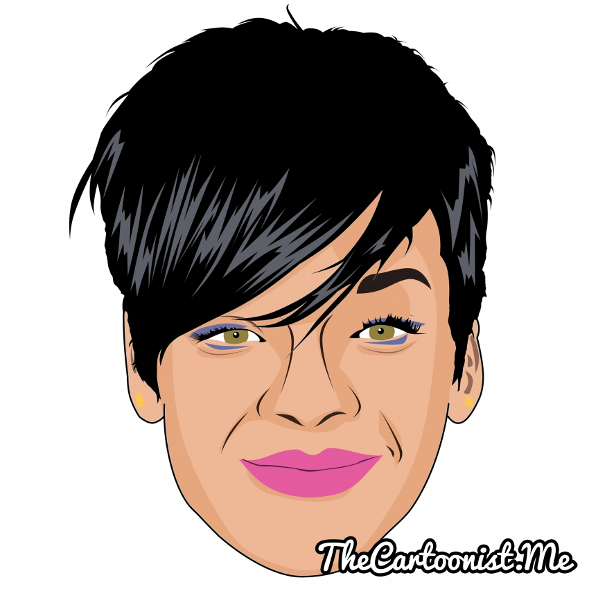 Rihanna by TheCartoonist